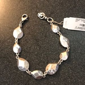 NWT lucky Brand silver bracelet